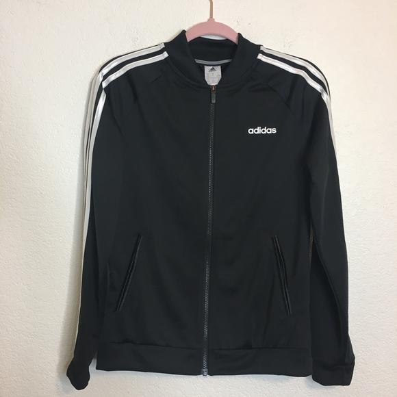 c1f350063 adidas Jackets & Coats   Womens Dazzle Track Jacket Black White Sm ...